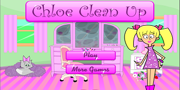 giochi online gratis Chloe Clean Up, categoria abilita