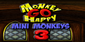giochi online gratis Monkey Go Happy Mini Monkeys 3, categoria bambini